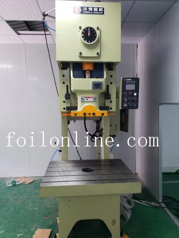 aluminium foil container press machine
