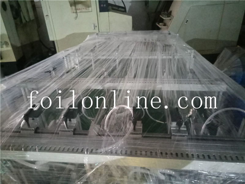 aluminium foil container making machine Two track automatic stacker 1