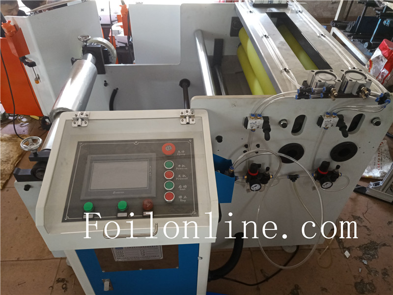 aluminium foil container making machine Uncoiler