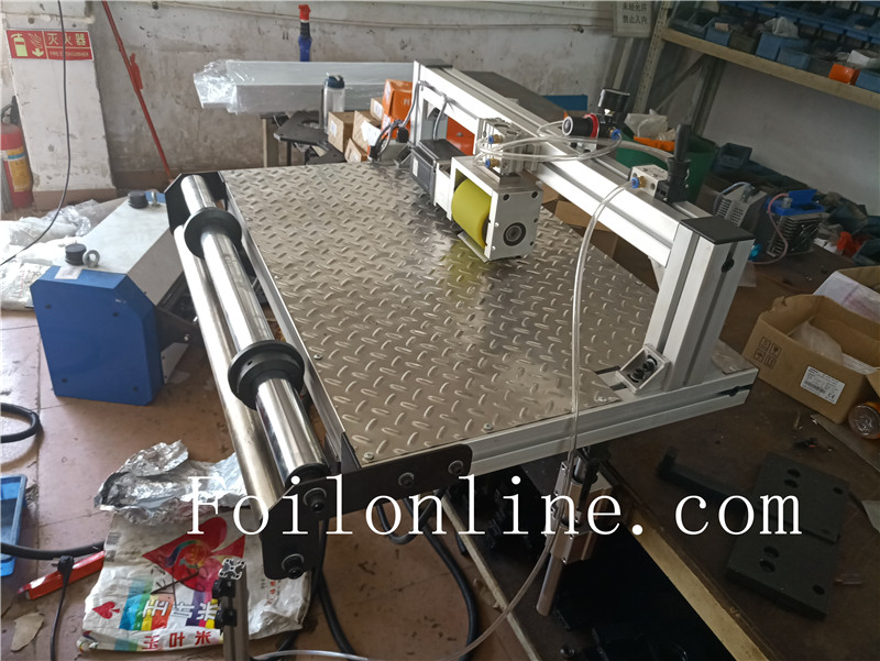 aluminium foil container making machine feeder
