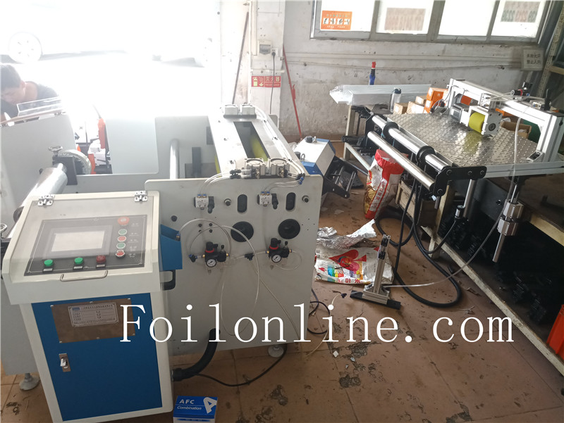 aluminium foil container machine Feeder