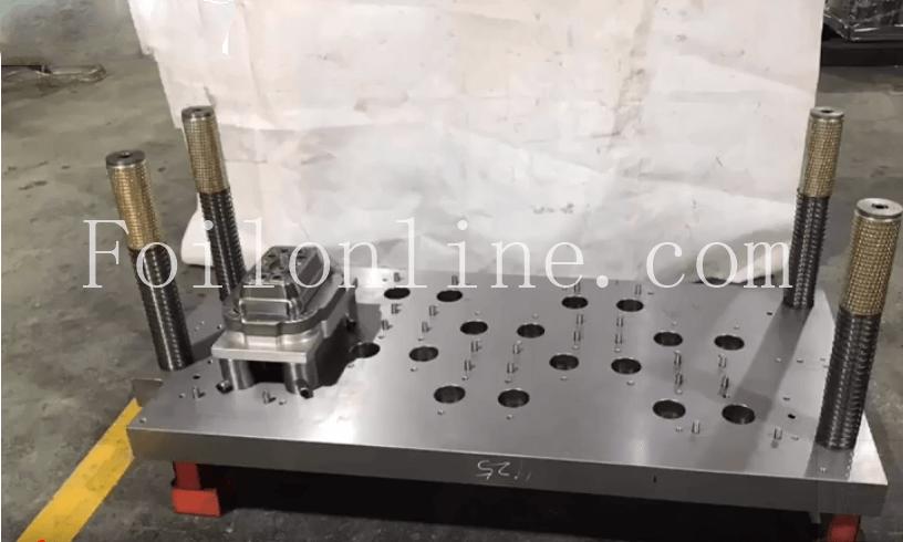 aluminium foil continer mould manufacturer in china