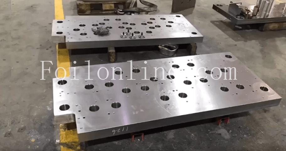 aluminium foil continer mould china manufacturer