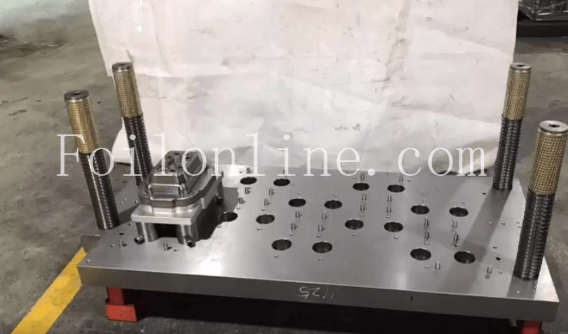 aluminium foil container mould in india
