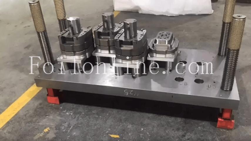 moulds for aluminum foil containers