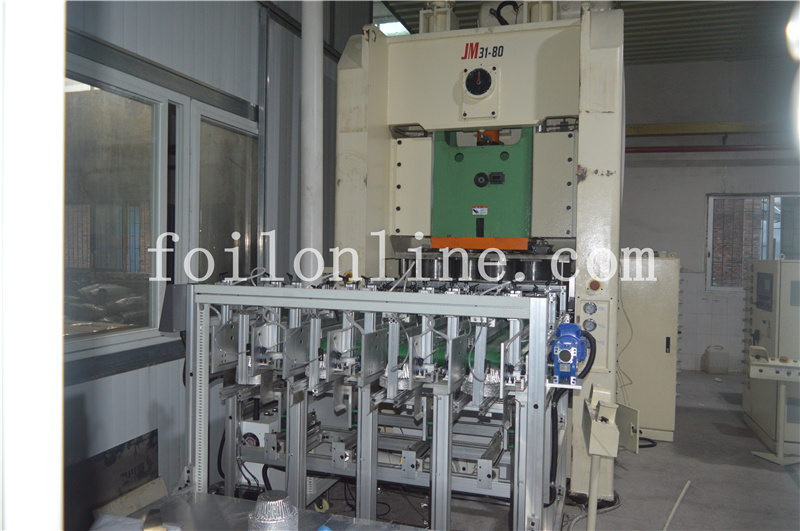 aluminum foil container making machine india