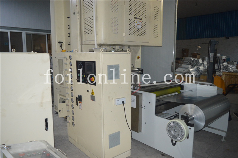 Aluminium Foil Ontainer Making Machine