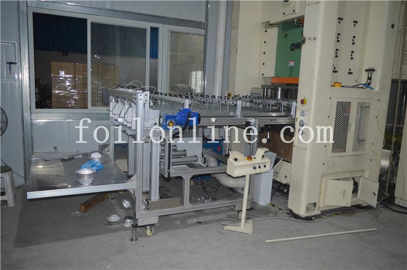 aluminium foil container making machine price in india