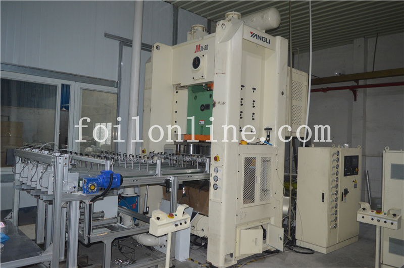 Fully Automatic Aluminum Foil Container Machine SQAF-FA80-4