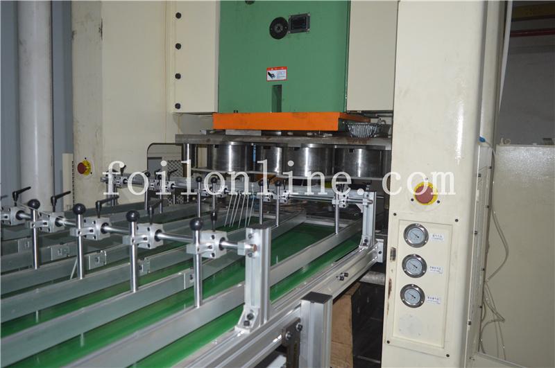 aluminium foil container making machine price in china