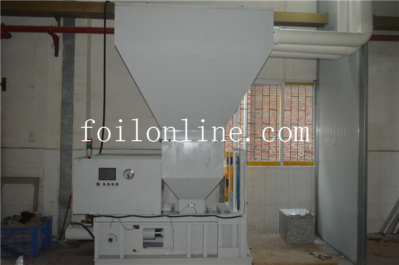 Fully Automatic Hydraulic Aluminum Foil Scrap Pressing Machine