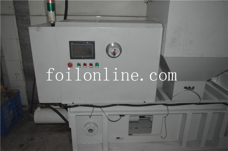 Aluminum Foil Scrap Pressing Machine