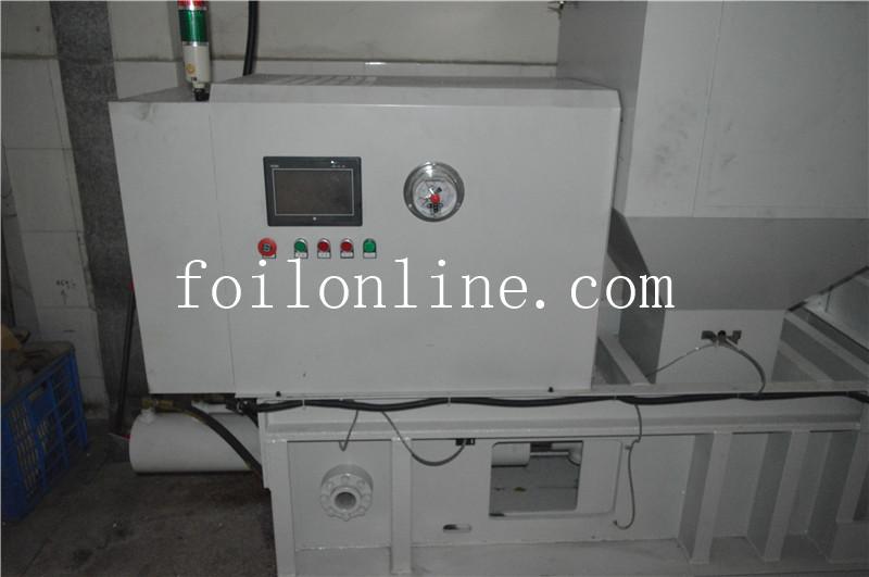Aluminum Foil Scrap Pressing Machine