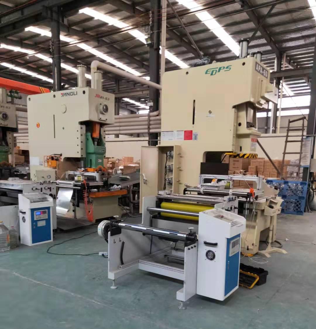 Semi Automatic Aluminium Foil Container Machine SQAF-SA